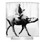 Lao-tzu (604-531 Bc) Shower Curtain