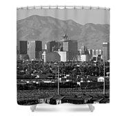 Las Vegas Suburbs Shower Curtain