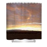 Las Vegas Sunset Shower Curtain