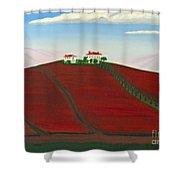 Laselva Heather Farm Shower Curtain