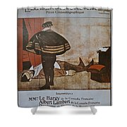 L'assassinat Du Duc De Guise Shower Curtain