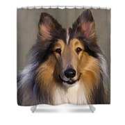 Lassie Come Home Shower Curtain