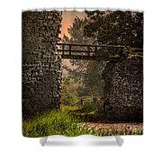 Last Bridge To Minas Tirith  Shower Curtain