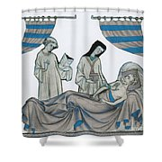 Last Rites, Middle Ages Shower Curtain