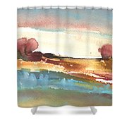 Late Afternoon 38 Shower Curtain