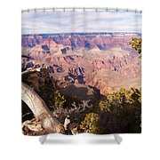 Late Afternoon At The South Rim Shower Curtain