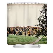 Late Fall In Waynesville Shower Curtain