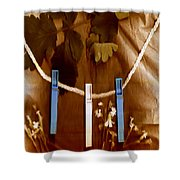 Laundry Day Popart Shower Curtain