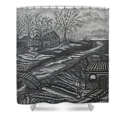 Lauraly Shower Curtain