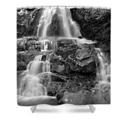Laurel Falls In The Smoky Mountains Shower Curtain