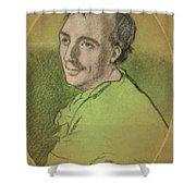 Laurence Eusden, English Poet Laureate Shower Curtain