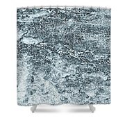 Lava Abstract Shower Curtain