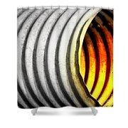 Lava Tube Shower Curtain