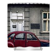 Lawyer. Belgrade. Serbia Shower Curtain