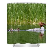 Lazy Swim Shower Curtain