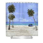Le Cabine Bianche Shower Curtain