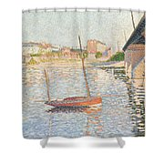 Le Clipper - Asnieres Shower Curtain