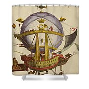 Le Minerve Shower Curtain