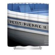 Le Petit Pierre II Shower Curtain