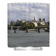 Le Pont Des Arts. Paris. France Shower Curtain