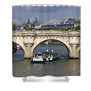 Le Pont Neuf . Paris. Shower Curtain