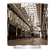 Leadenhall Market London With  Shower Curtain