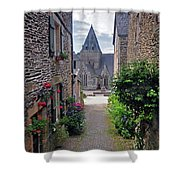 Leading To The Church Provence France Shower Curtain
