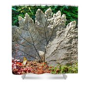 Leaf Art Shower Curtain