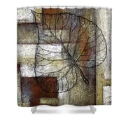 Leaf Whisper 1 Shower Curtain