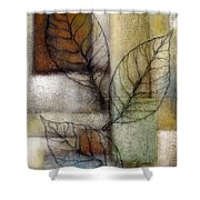 Leaf Whisper 2 Shower Curtain