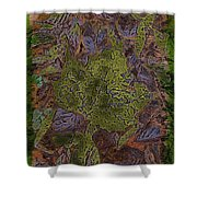 Leafy Goodness Shower Curtain