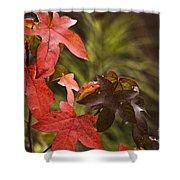 Leafy Shower Curtain