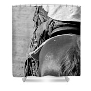 Leather Chaps Shower Curtain