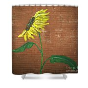Leavenworth Sunflower  Shower Curtain