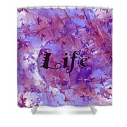 Leaves Of Life Shower Curtain