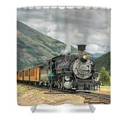 Leaving Now Shower Curtain