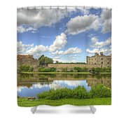 Leeds Castle Reflected Shower Curtain