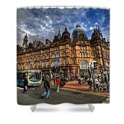 Leeds Kirkgate Market Shower Curtain