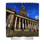 Leeds Town Hall Shower Curtain