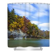 Lees Landing Shower Curtain