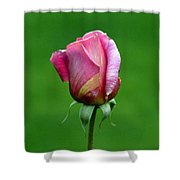 Left Standing Alone Shower Curtain