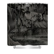 Legend Of The Old House In The Swamp Shower Curtain
