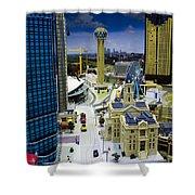 Legoland Dallas Iv Shower Curtain