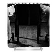 Legs Shower Curtain