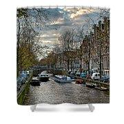 Leidsegracht. Amsterdam Shower Curtain
