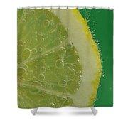 Lemon Slice Soda 1 Shower Curtain