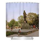 Lenin In Hanoi Shower Curtain