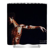 L'envol - The Take Off Shower Curtain