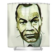 Leon Gontran Damas Shower Curtain