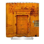 Leona Severa Shower Curtain
